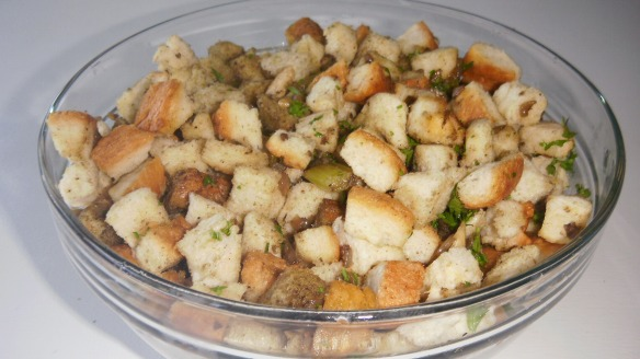dairy free stuffing for turkey