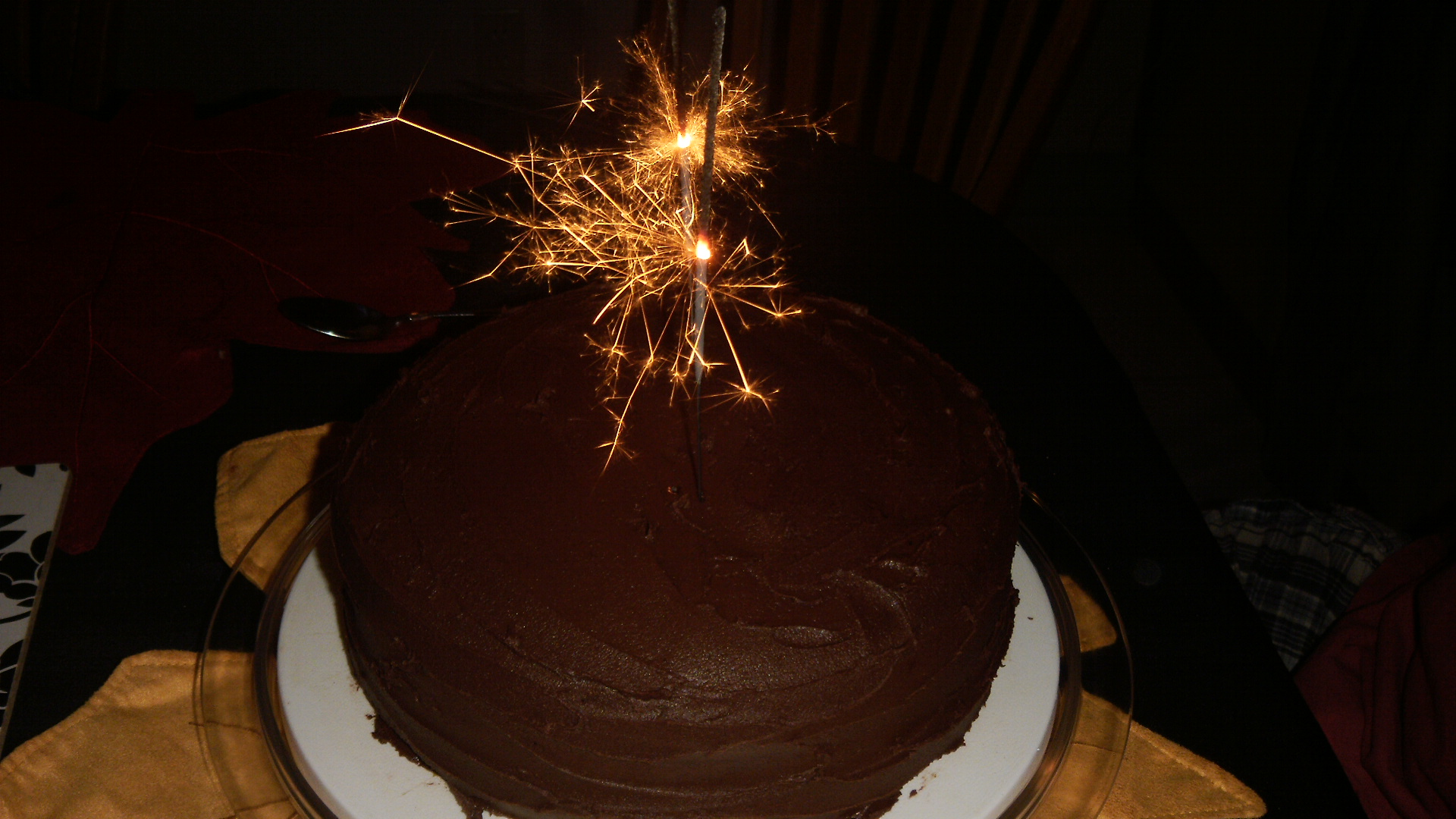 Dairy Egg And Peanuttree Nut Free Chocolate Birthday Cake The