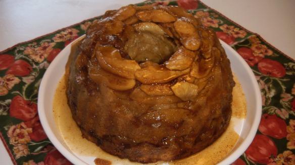 dairy,egg and peanut/tree nut free apple bundt cake