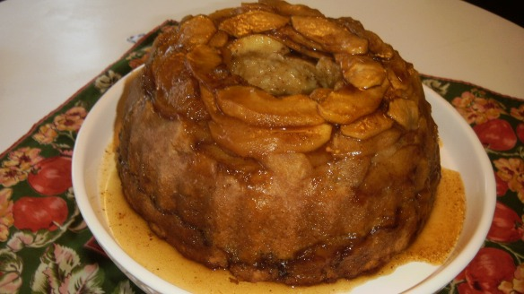dairy,egg and peanut/tree nut free apple bundt cake