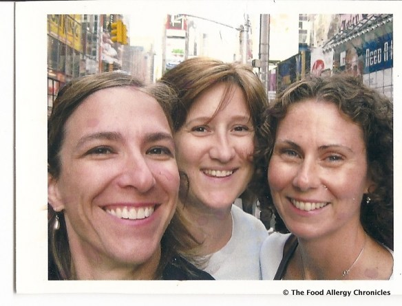 susan h. and her friends in NYC