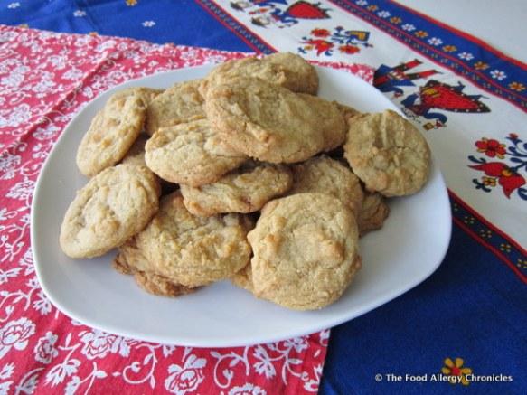 dairy free egg free sugar cookies