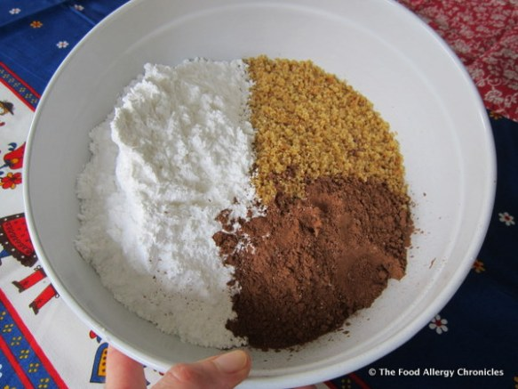 ingredients for dairy free rumballs