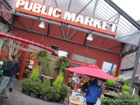 Public Market in Granville Island, Vancouver