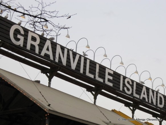 granville island sign, vancouver