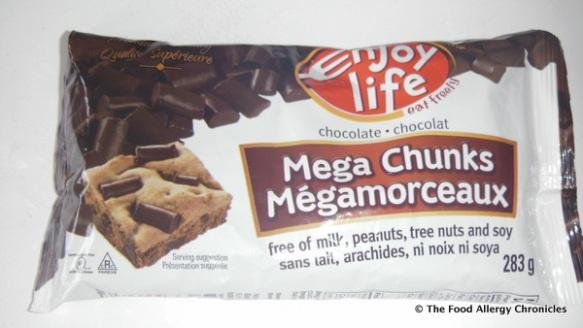 Enjoy Life's Chocolate Chunks