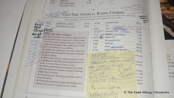 canadian living country cookbook oatmeal raisin cookie recipe