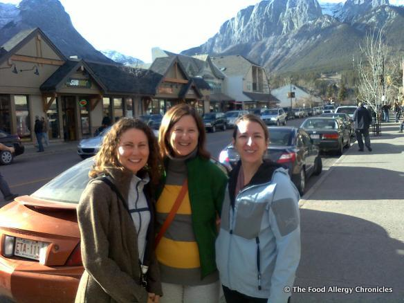 susan h. and her friends in Canmore