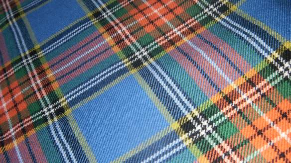 ancient macbeth family tartan