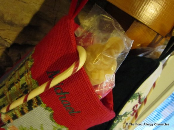 maple sugar santa for the boys' stocking