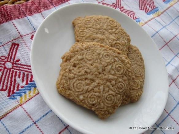 dairy,egg and peanut/tree nut free speculaas cookies