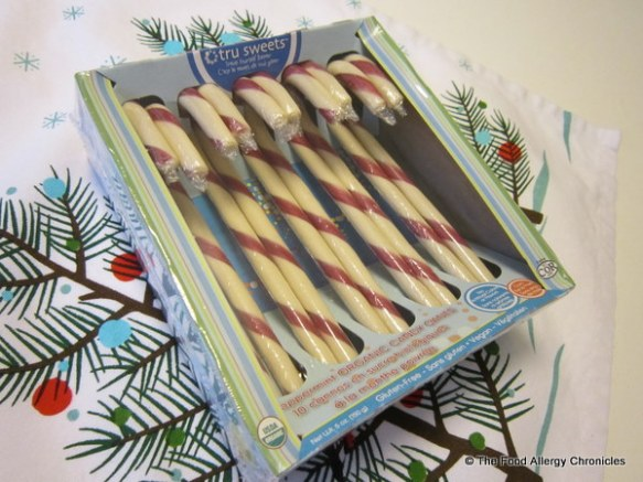 package of candy canes by TruSweet