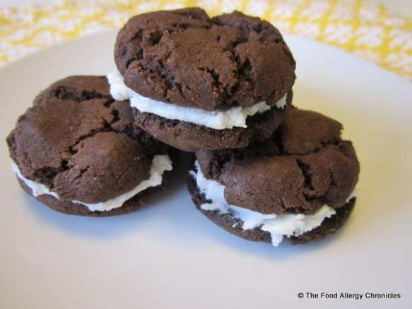 dairy,egg and peanut/tree nut free oreo style cookies
