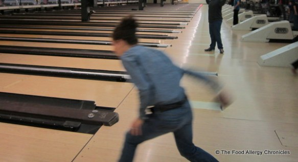 myself bowling at Neb's