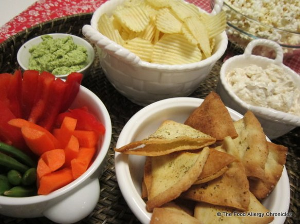 Superbowl party munchies