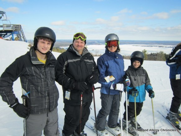 our family at calabogie peaks ski resort