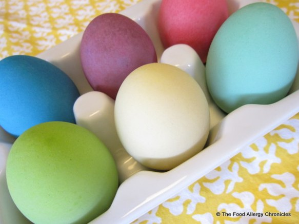 EggNots ceramic eggs dyed beautiful colours