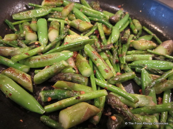 asparagus growing in the garden | The Food Allergy Chronicles