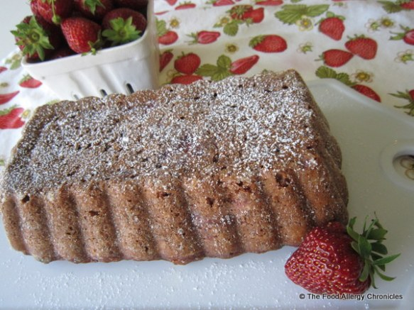 Dairy, Egg, Soy and Peanut/Tree Nut Free Strawberry Bread