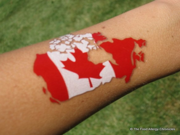 Canada Day tattoo 2012