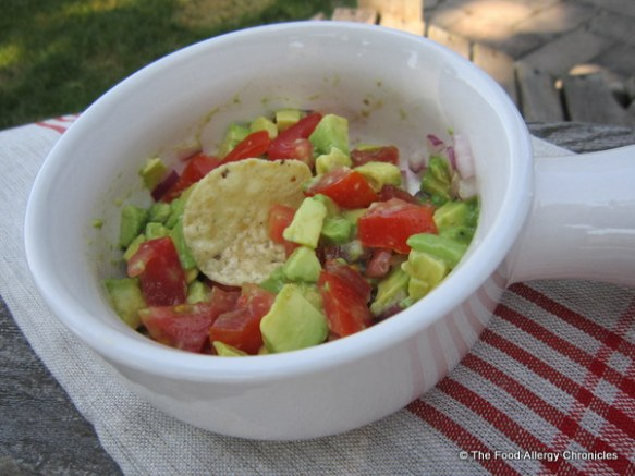 Chunky version of Michael's Guacamole