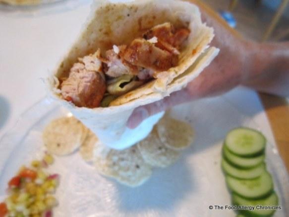Michael's Barbecued Chicken Fajita
