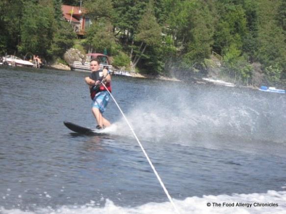 Michael slalom skiing