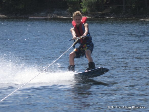 Matthew wake boarding