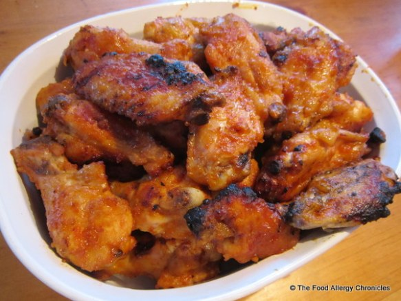 Andy's famous Chicken Wings