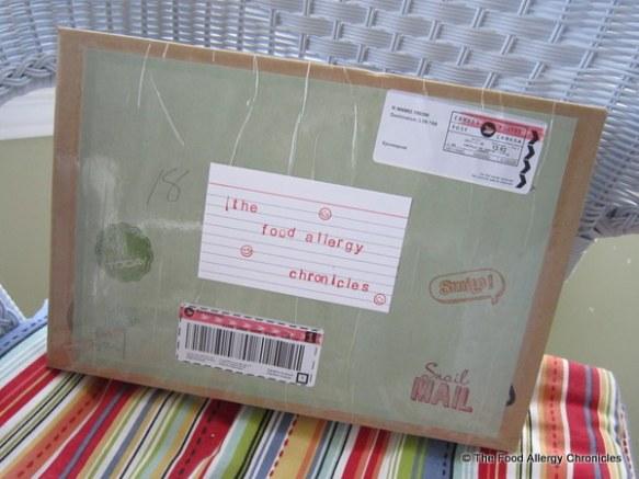 My Secret Sister parcel has arrived, 2012