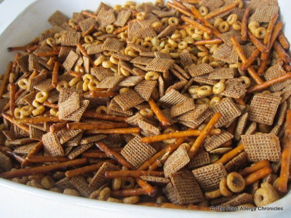 Peanut/Tree Nut, Mustard and Sesame Free Cajun Snack Mix