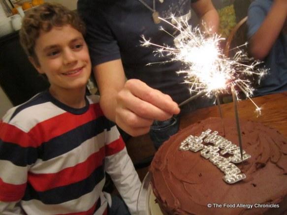 Matthew's 14th birthday
