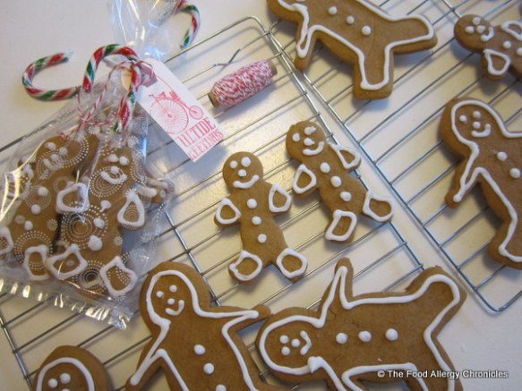 Dairy, Egg, Soy and Peanut/Tree Nut Free Gingerbread Men
