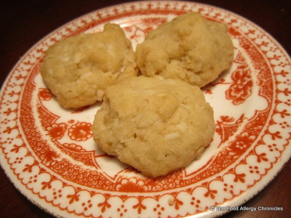 A plate of Dairy, Egg, Soy and Peanut/Tree Nut Free '100 Good Cookies'
