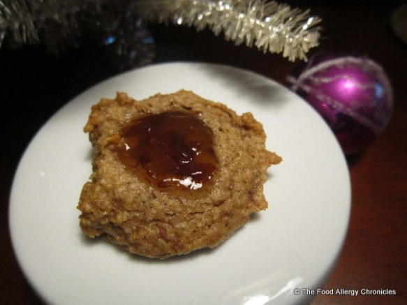 Dairy, Egg, Soy and Peanut/Tree Nut Free 'Sugar Plum Fairy Cookie'