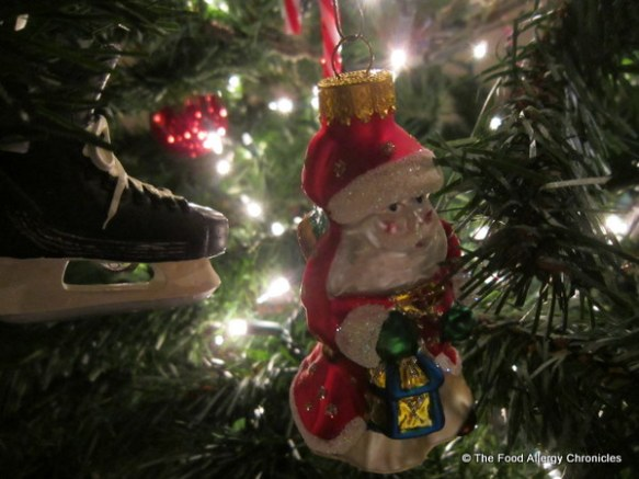 2012 Christmas Santa on tree