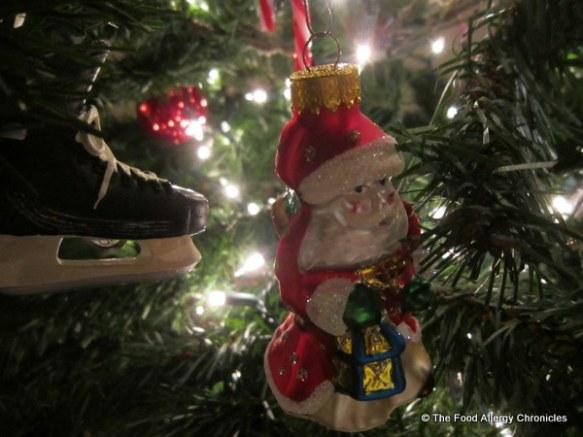 2012 Christmas Santa on tree