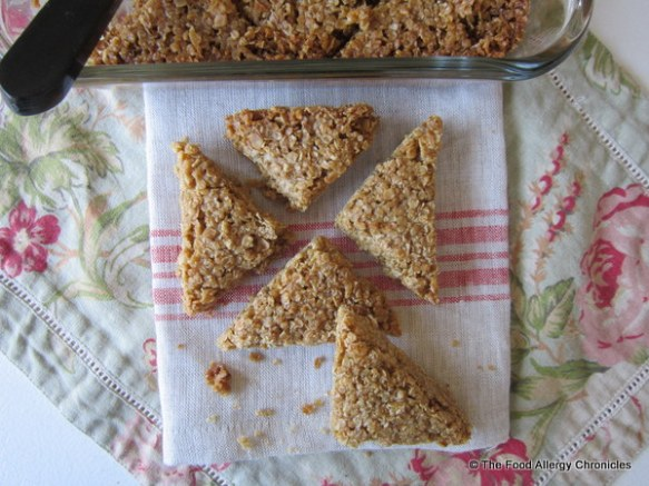 A selection of Dairy, Egg, Soy and Peanut/Tree Nut Free Flapjacks