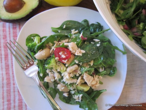My adaption of Jennifer Bain's Crawford Street Salad from the Toronto Star Cookbook
