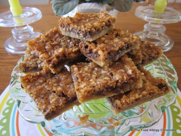 Dairy, Egg, Soy and Peanut/Tree Nut Free 'Dream Bars'