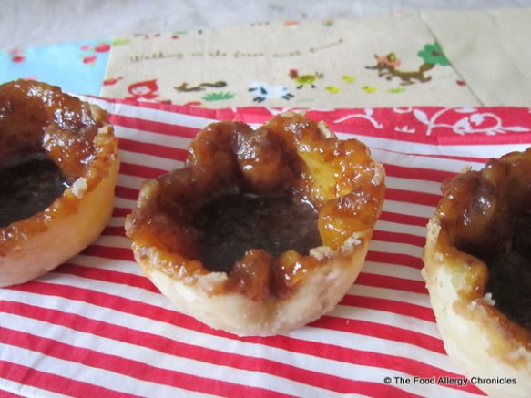 Dairy, Egg, Soy and Peanut/Tree Nut Free Butter Tarts