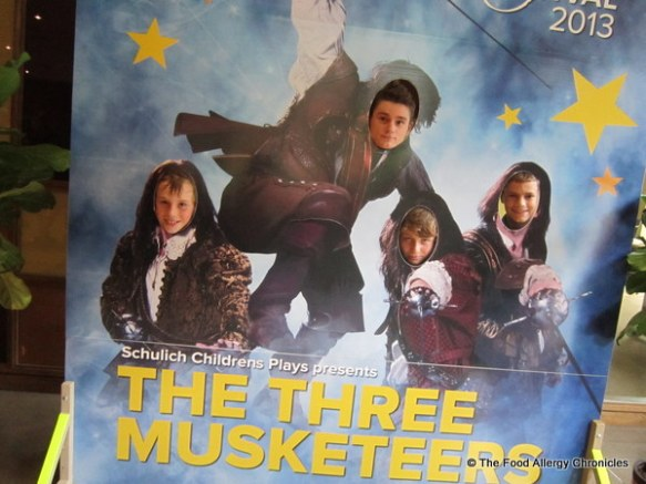 The boys at the Three Musketeers at Stratford